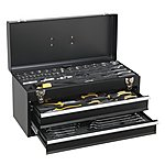 image of Sealey S01055 Portable Tool Chest 2 Drawer With 90pc Tool Kit