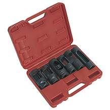 "image of Sealey Sx0401 Diesel Injector Window Socket Set 6pc 1/2""""sq Drive"