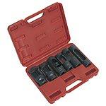 "image of Sealey Sx0401 Diesel Injector Window Socket Set 6pc 1/2""""sq Drive"