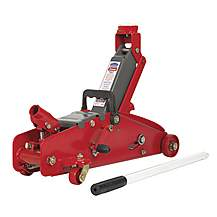 image of Sealey 2000lj Trolley Jack 2tonne With Safety Lock