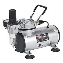 image of Sealey Ab900 Mini Air Brush Compressor
