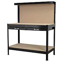 image of Sealey Ap12600 Workstation 1.2mtr With Drawers