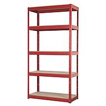 image of Sealey Ap6350 Racking Unit With 5 Shelves 350kg Capacity Per Level