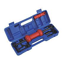 image of Sealey Dp9/5b Slide Hammer Kit 9pc