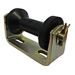 image of Boat Trailer Bracket And Flat Keel Roller Assembly 10mm Bore