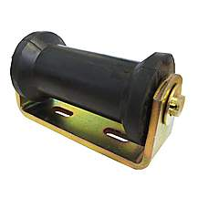 image of Boat Trailer Bracket And Flat Keel Roller Assembly 19mm Bore