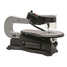 image of Variable Speed Wood Scroll Saw 16 Inch / 406mm - With Laser