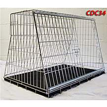 image of Pet World UK - 34 Inch Large Car Dog Cage Crate For Hatchback & Estate Cars