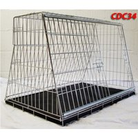 Pet World UK - 34 Inch Large Car Dog Cage Crate For Hatchback & Estate Cars