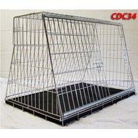Pet World UK - 34 Inch Large Car Dog Cage Crate For Hatchback & Estate Cars