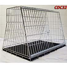 image of Pet World UK - 32 Inch Medium Car Dog Cage Crate For Hatchback & Estate Cars