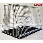 image of Pet World UK - 38 Inch Xxx Large Car Dog Cage Crate For Hatchback & Estate Cars