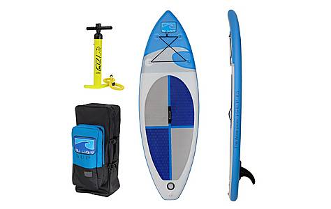 image of Inflatable Kids Stand Up Paddle Board Sup - The Mini Rider Isup 8.5