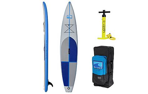 image of Inflatable Touring Stand Up Paddle Board Sup - The Catalina Isup 12.6