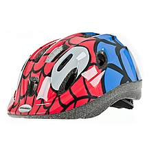 image of Raleigh Mystery Spider Bicycle Helmet. 48 - 54 Cm