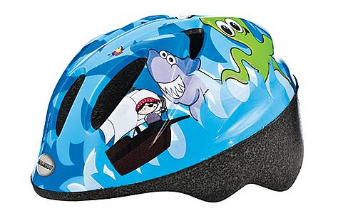 image of Raleigh Rascal Pirate Kids Bicycle Helmet. 44 - 50cm