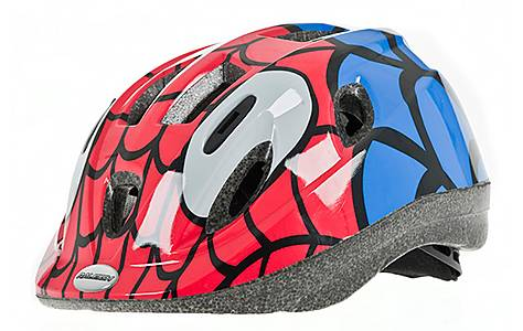image of Raleigh Mystery Spider Bicycle Helmet. 52 - 56 Cm