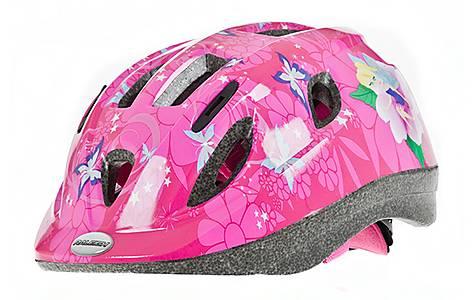 image of Raleigh Mystery Pink Bicycle Helmet. 48 - 54 Cm.