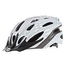 image of Raleigh Mission Silver Shadow Adult Bicycle Helmet. 58 - 62 Cm.