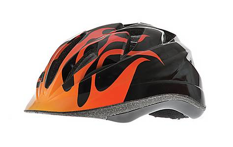 image of RSP Rogue Flame Boys Bicycle Helmet. 52 - 57 Cm.