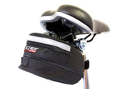 image of M Wave Cycle Bike Expanding Quick Release Seat Bag