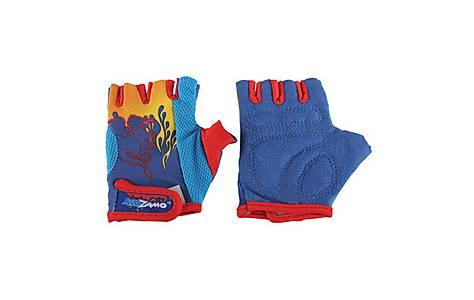 image of Boys Kidzamo Glove Mitt Blue Flame