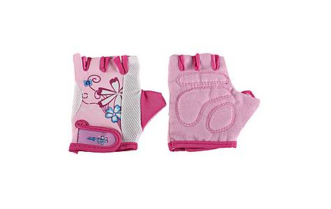 image of Girls Kidzamo Glove Mitt Pink Flowers