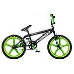 "image of Rooster Big Daddy BMX Bike 20"" Green/black Mag Gyro"