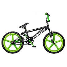 image of Rooster Big Daddy 20inch Green Skyway Mag Black Bmx Freestyler Bike
