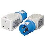 image of 13/16 Amp Generator Socket Adaptor (230v)