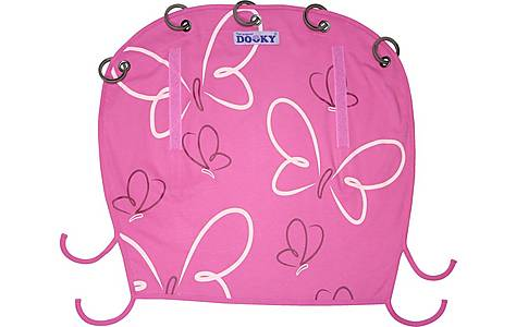 image of Dooky Sunshade Pink Butterfly