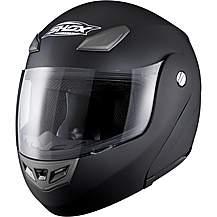image of Shox Assault Motorcycle Helmet -medium - Matt Black