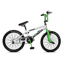 image of Rooster No Mercy 20inch Spoke White/green Bmx Freestyler Bike
