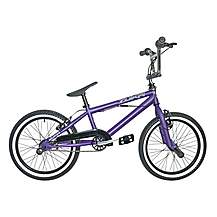 image of Rooster Zuka 18inch Spoke Purple Bmx Freestyler Bike