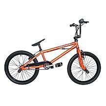 image of Rooster Zuka 20inch Spoke Grey/orange Bmx Freestyler Bike