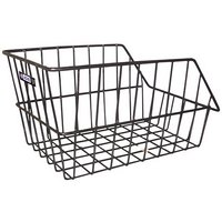 Adie Large Rear Wire Bike Cycle Basket Black