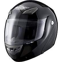 image of Shox Bullet Flip Front Motorcycle Helmet - Gloss Black - Medium