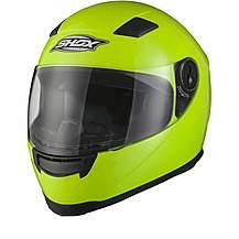 Shox Sniper Hi-vis Motorcycle Helmet - Medium