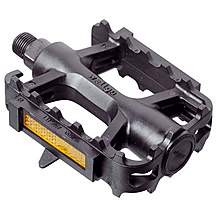image of Raleigh Bike Cycle Pedals Mtb Black 1/2""