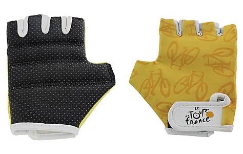 image of Tour De France Regular Bicycle Gloves Yellow X Small