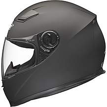 image of Shox Sniper Solid Motorcycle Helmet Xs Matt Black