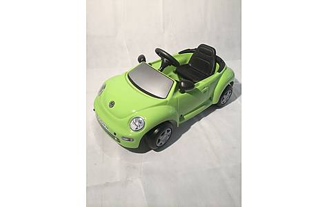 image of Vw New Beetle Green Pedal Car
