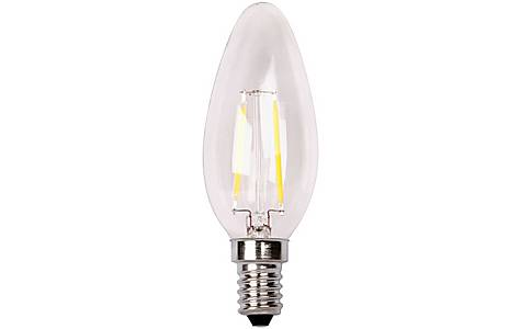 image of 5 Pack Led Candle E14 2w Filament Led, Look Like Traditional Bulbs Warm White Xq1402