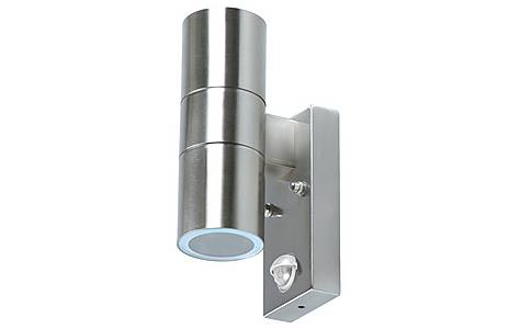 image of Arezzo Double Outdoor Wall Light With Pir Motion Detector 5000.257