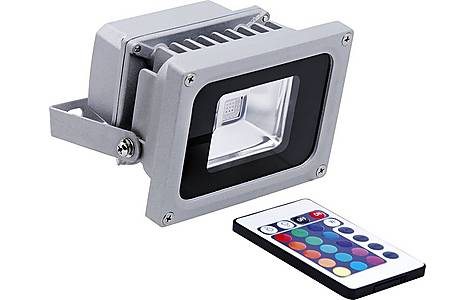 image of Outdoor Rgb Colour Changing Led Security Floodlight 10w Xq1423
