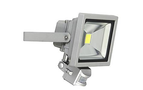 image of Outdoor Led Security Floodlight 20w With Pir Motion Detector Xq1221