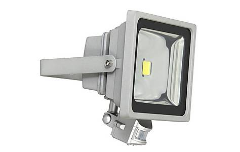 image of Outdoor Led Security Floodlight 30w With Pir Motion Detector Xq1224