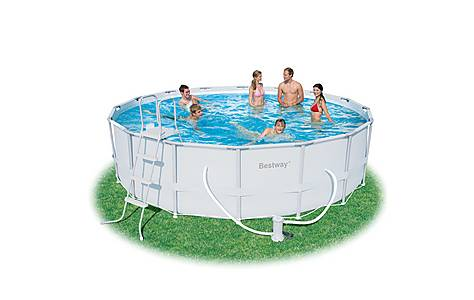image of 16 Power Steel Frame Pool Set