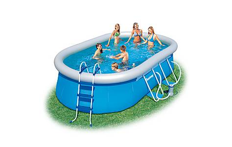 image of 16 Oval Fast Set Pool Set