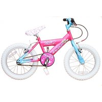 "Raleigh Bike Starlight 16"" Girls Bicycle In Pink - New Model"